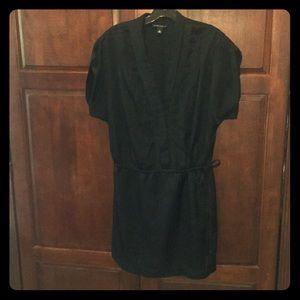 Banana Republic black mini dress